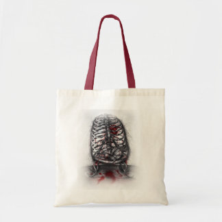 Empty Cage Anatomy Horror Art Tote Bag