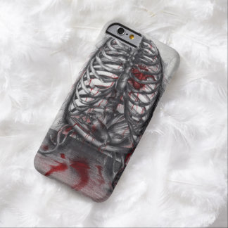 Empty Cage Anatomy Horror Orig Art iPhone 6 Case