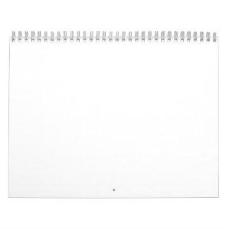 Empty Calendar 2018 White Template