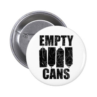 Empty Cans Round Button