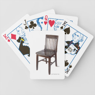 Empty Chair Bicycle Playing Cards