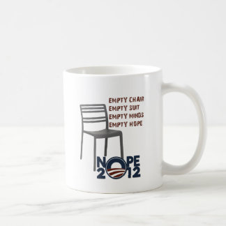 Empty Chair, Empty Obama Coffee Mug