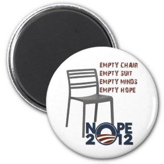 Empty Chair Empty Obama Magnet