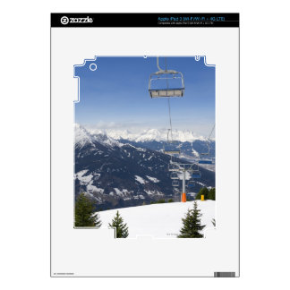 Empty Chair Lift Decals For iPad 3