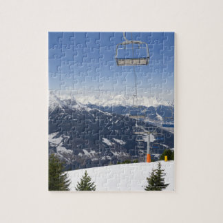 Empty Chair Lift Jigsaw Puzzle