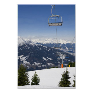 Empty Chair Lift Poster