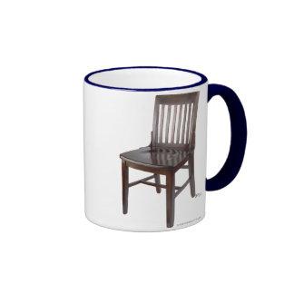 Empty Chair Ringer Coffee Mug
