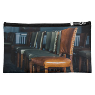 Empty Chairs at the Music Hall Cosmetic Bag