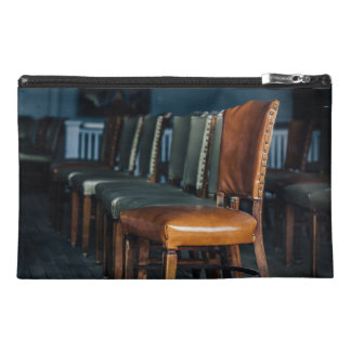 Empty Chairs at the Music Hall Travel Accessory Bags
