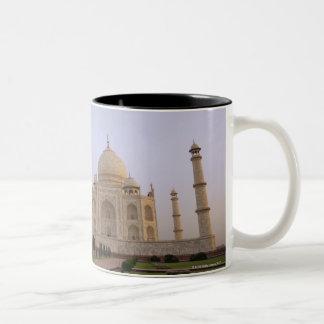 Empty Charbagh gardens at the Taj Mahal in the Coffee Mug