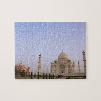 Empty Charbagh gardens at the Taj Mahal in the Jigsaw Puzzle