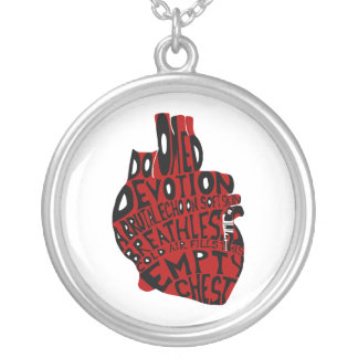 empty chest : anatomical heart custom jewelry