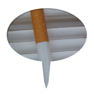 Empty cigarettes grouped together cake topper