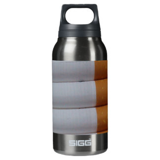 Empty cigarettes grouped together insulated water bottle