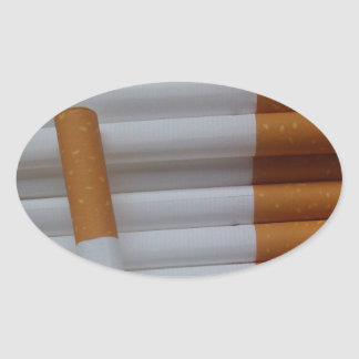 Empty cigarettes grouped together sticker