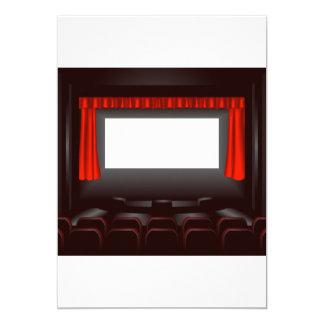 Empty Cinema Invitations