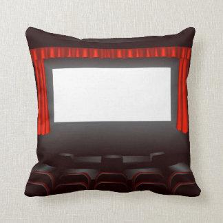 Empty Cinema Throw Cushions