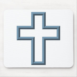 Empty cross mouse pad