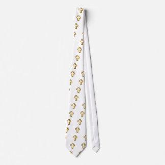Empty cross neck tie