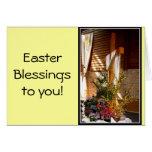 Empty Easter Cross of Jesus' Resurrection Card