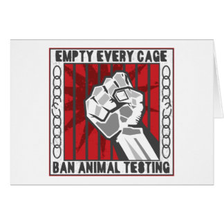 Empty Every Cage Card