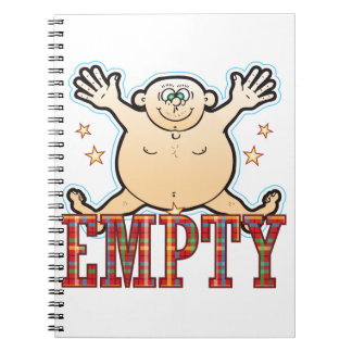 Empty Fat Man Notebook