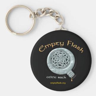 Empty Flask Key Chain