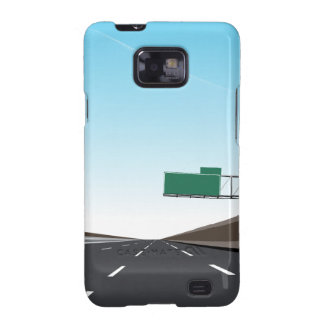 Empty Freeway Samsung Galaxy SII Cover