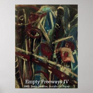 EMPTY FREEWAYS IV POSTERS