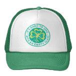 Empty Glass Shamrock Mesh Hat