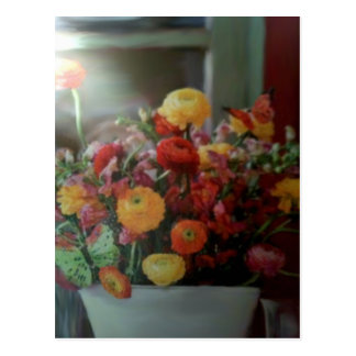 Empty Glass Vase Postcard