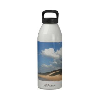 Empty Indian Ocean beach Cyntsa Eastern Cape Drinking Bottle