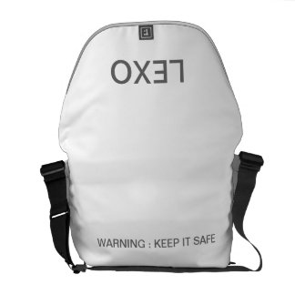 Empty LEXO Messenger Bags