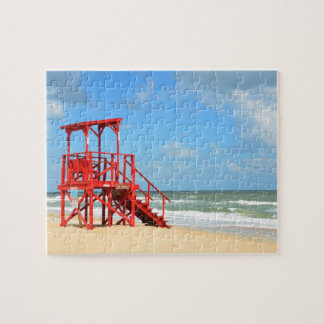 Empty Lifeguard Stand Jigsaw Puzzle