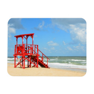Empty Lifeguard Stand Magnet