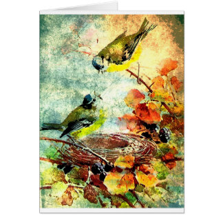 EMPTY NEST CHATTER CARD