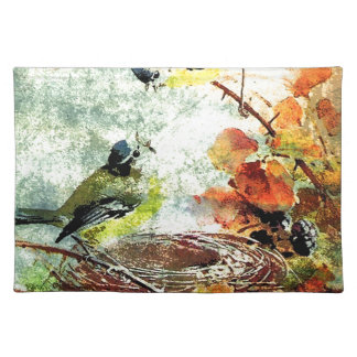EMPTY NEST CHATTER CLOTH PLACEMAT