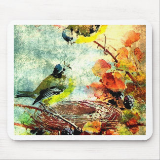 EMPTY NEST CHATTER MOUSE PAD