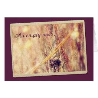 Empty Nest Encouragement Card