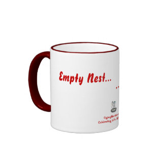 Empty Nest... Full Wallet Ringer Coffee Mug