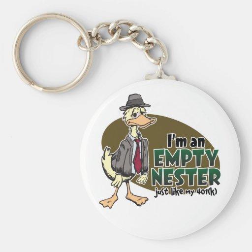Empty Nest Keychain