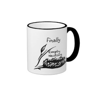 Empty Nesting Ringer Coffee Mug