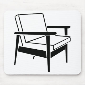 Empty Office Chair Mouse Pad