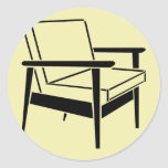 Empty Office Chair Stickers