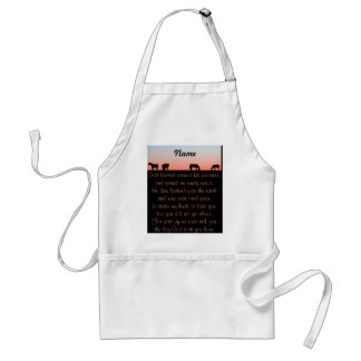 Empty Pasture Adult Apron