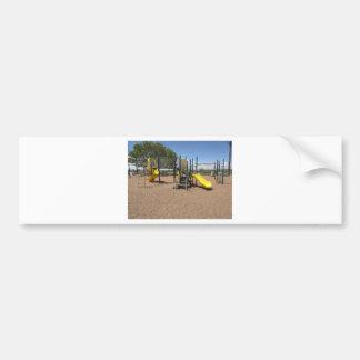 Empty Playground Car Bumper Sticker