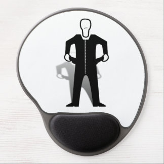 Empty Pockets Silhouette Gel Mouse Pad