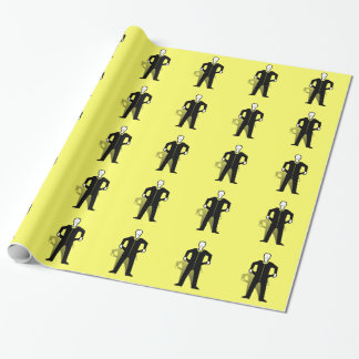 Empty Pockets Symbol Wrapping Paper