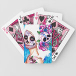 Empty Promises Day of the Dead Girl Bicycle Playing Cards