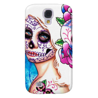 Empty Promises Day of the Dead Girl Galaxy S4 Case